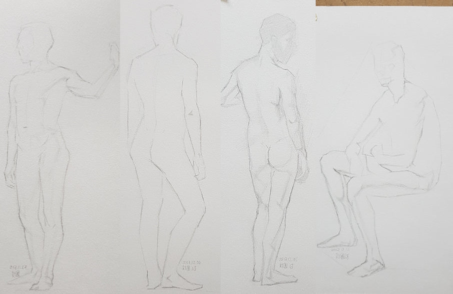 Life Drawing_Short Poses_20171226_t04w11