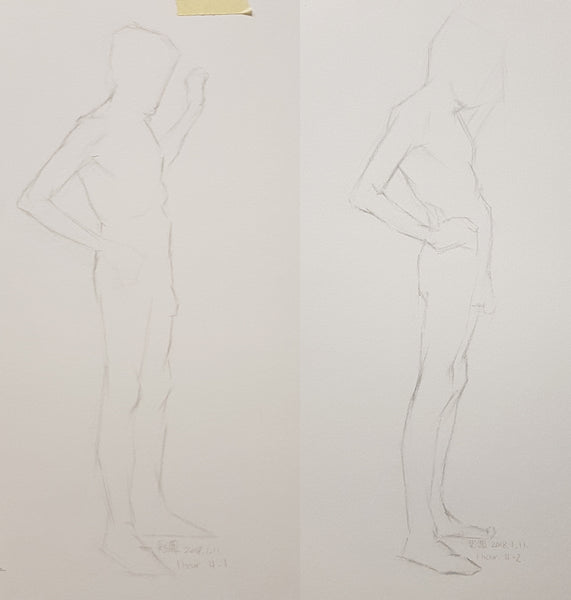 Life Drawing_Short Poses_20180130_t05w03
