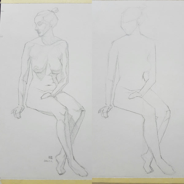 Life Drawing_Short Poses_20170213_t02w05