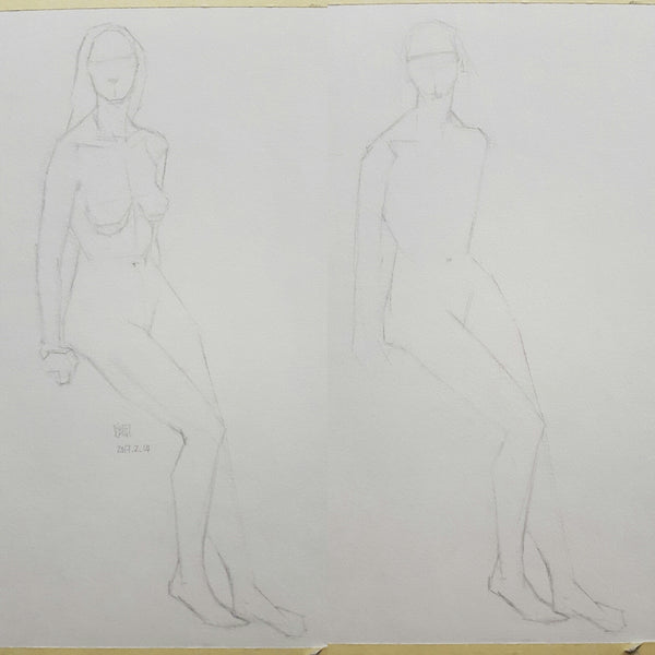 Life Drawing_Short Poses_20170220_t02w06