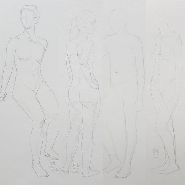 Life Drawing_Short Poses_20170522_t03w06