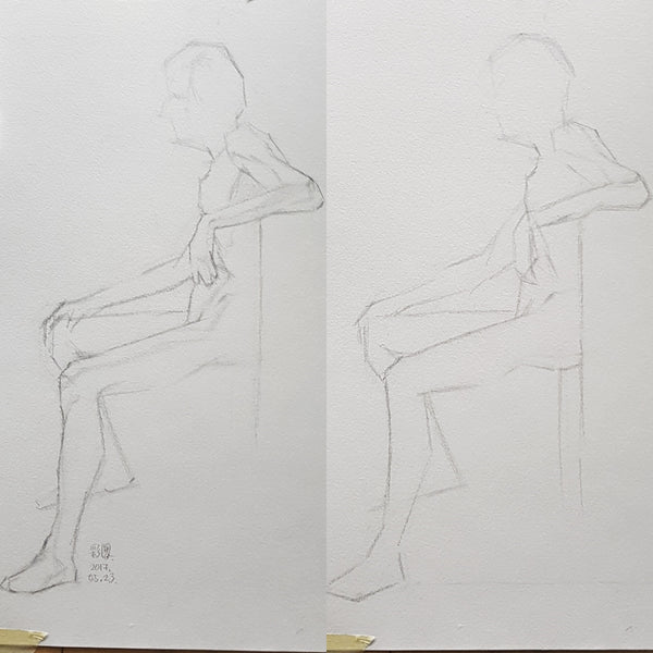 Life Drawing_Short Poses_20170604_t03w08