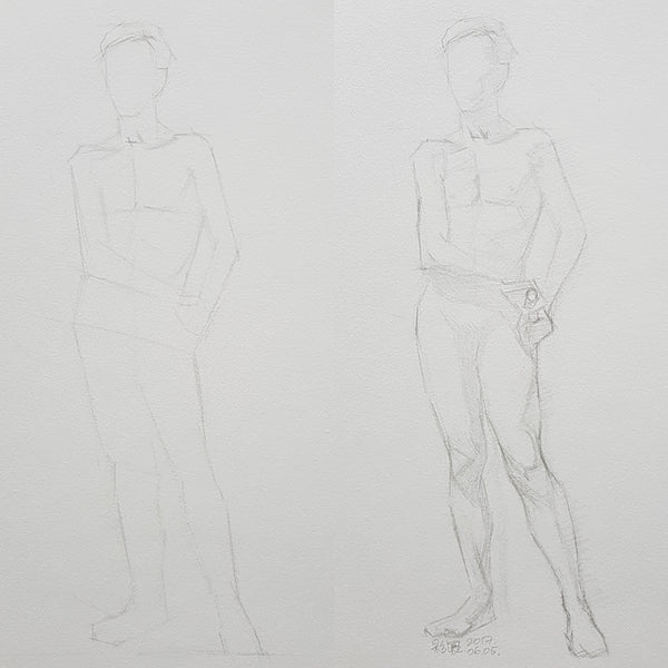 Life Drawing_Short Poses_20170624_t03w11