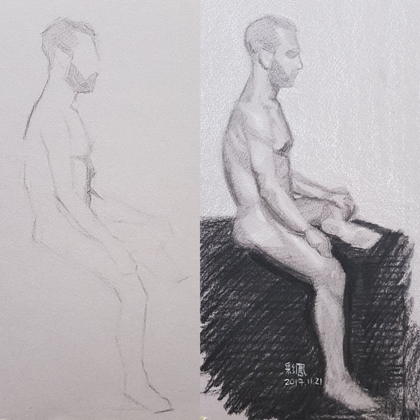 Life Drawing_Short Poses_20171125_t04w08