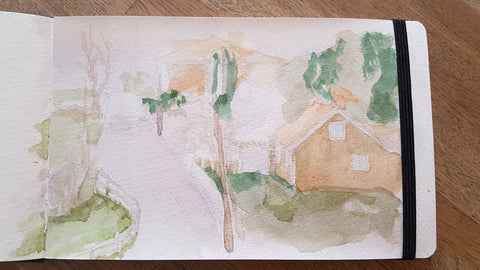 plein air first try