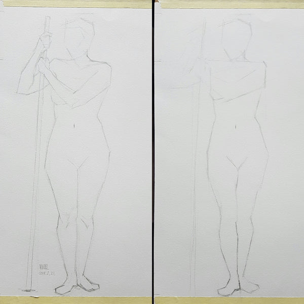 shortpose_life drawing 02_steps