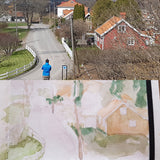 plein air in Kvarnby, Mölndal, Sweden