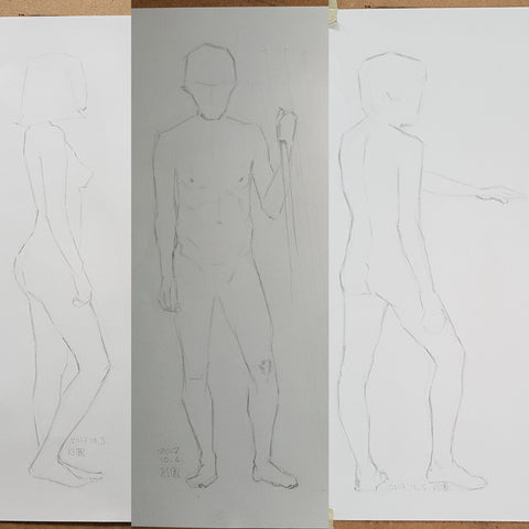 shortposes life drawing