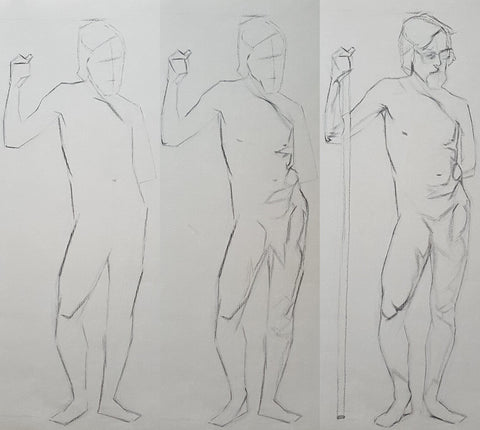 Model drawing in Steps