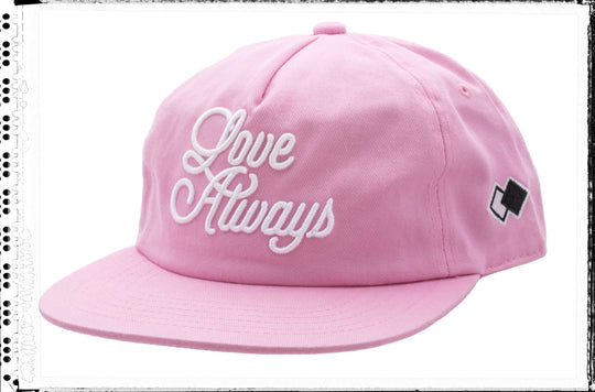 LOVE ALWAYS_ Flamingo Pink Cap