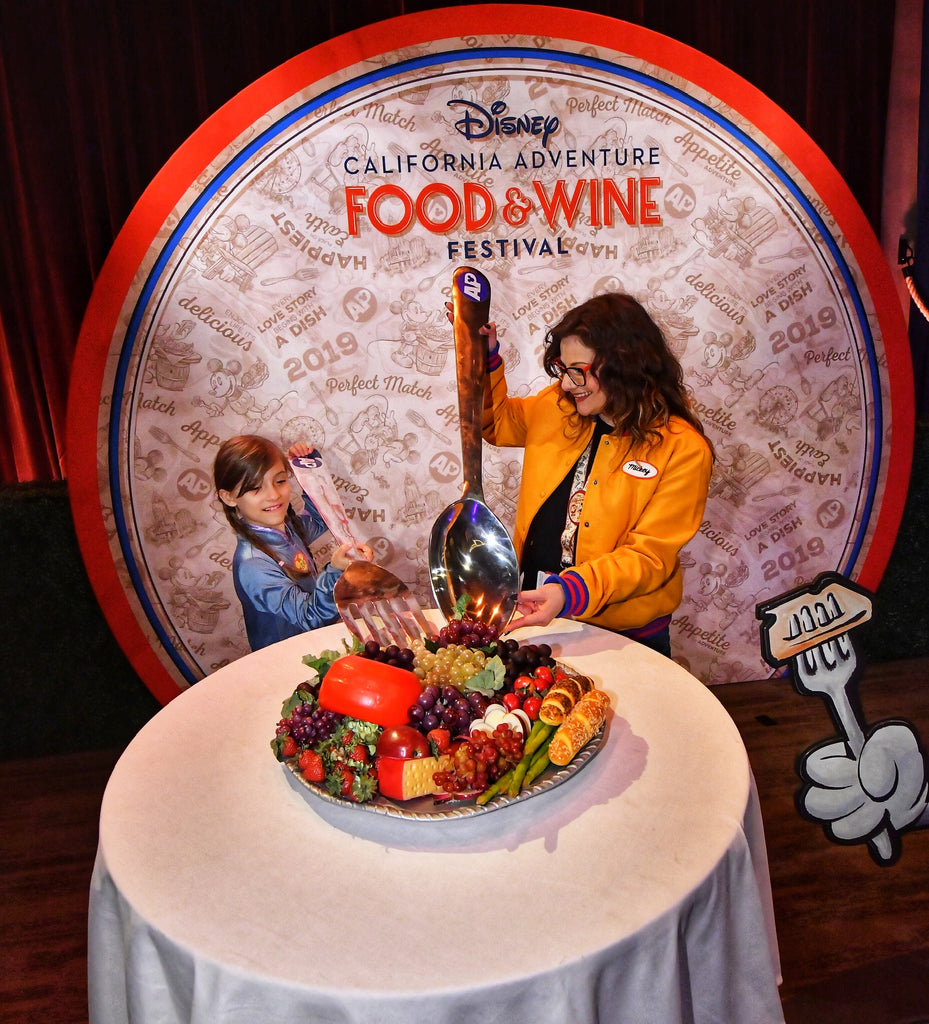 Food & Wine festival at DCA with kiddos