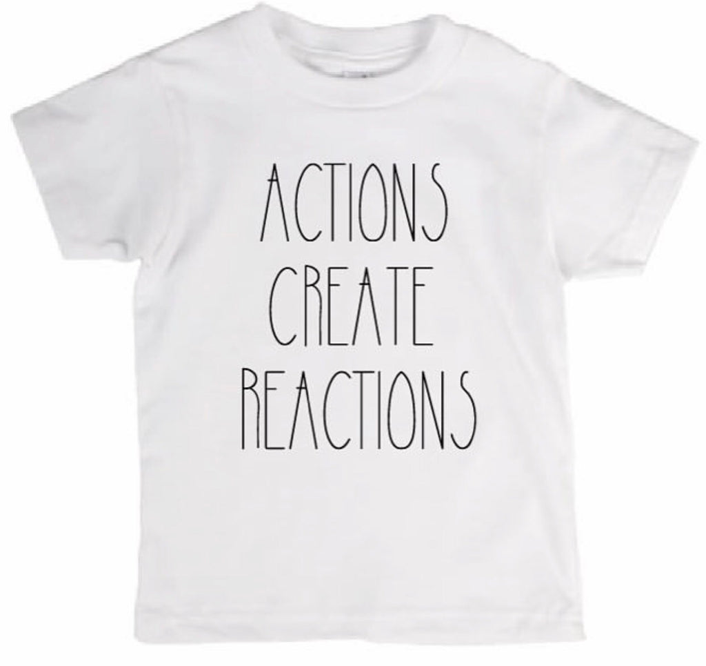 Actions Create Reactions