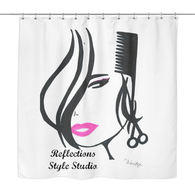 Trinitye Reflections Collection 2: Shower Curtain
