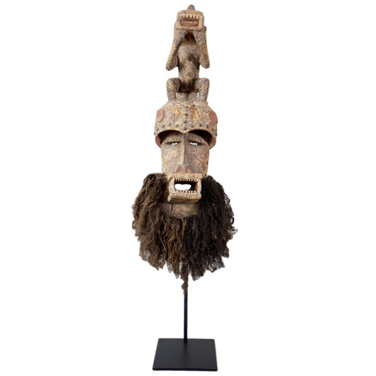 Bearded Baule Mask