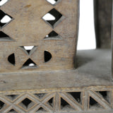 Ashanti Stool Carved