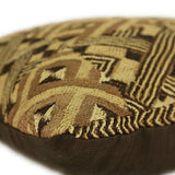 Geometric Kuba Cloth Pillow 2