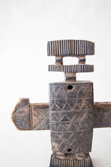 Etched Dogon Lock