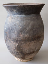 Tall Textured Senufo Pot