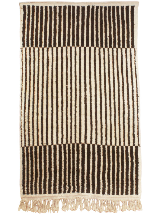 Graphic Stripe Moroccan Rug