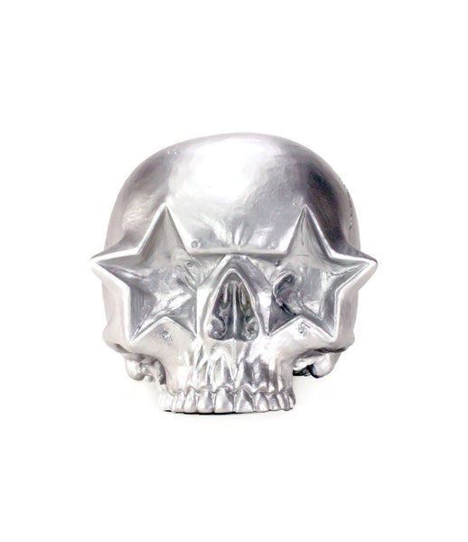 Ron English: Star Skull Silver