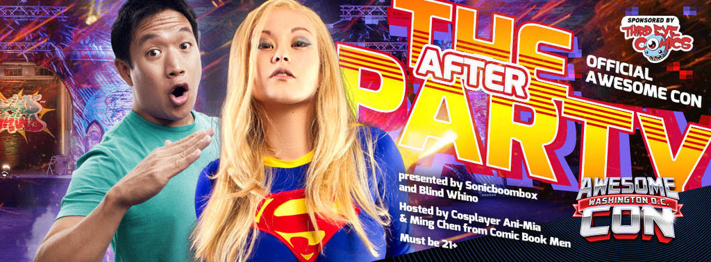 Official Awesome Con AfterParty - May 30, 2016