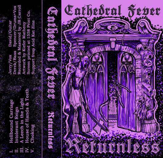 Cathedral Fever - Returnless - Cassette