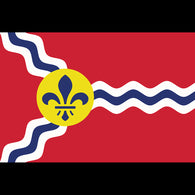Giant St. Louis Flag Sticker