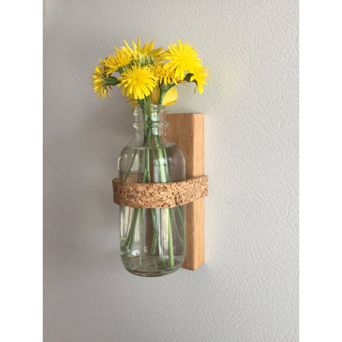 Magnetic Planter - Cork