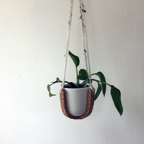 Hanging Planter - Cork