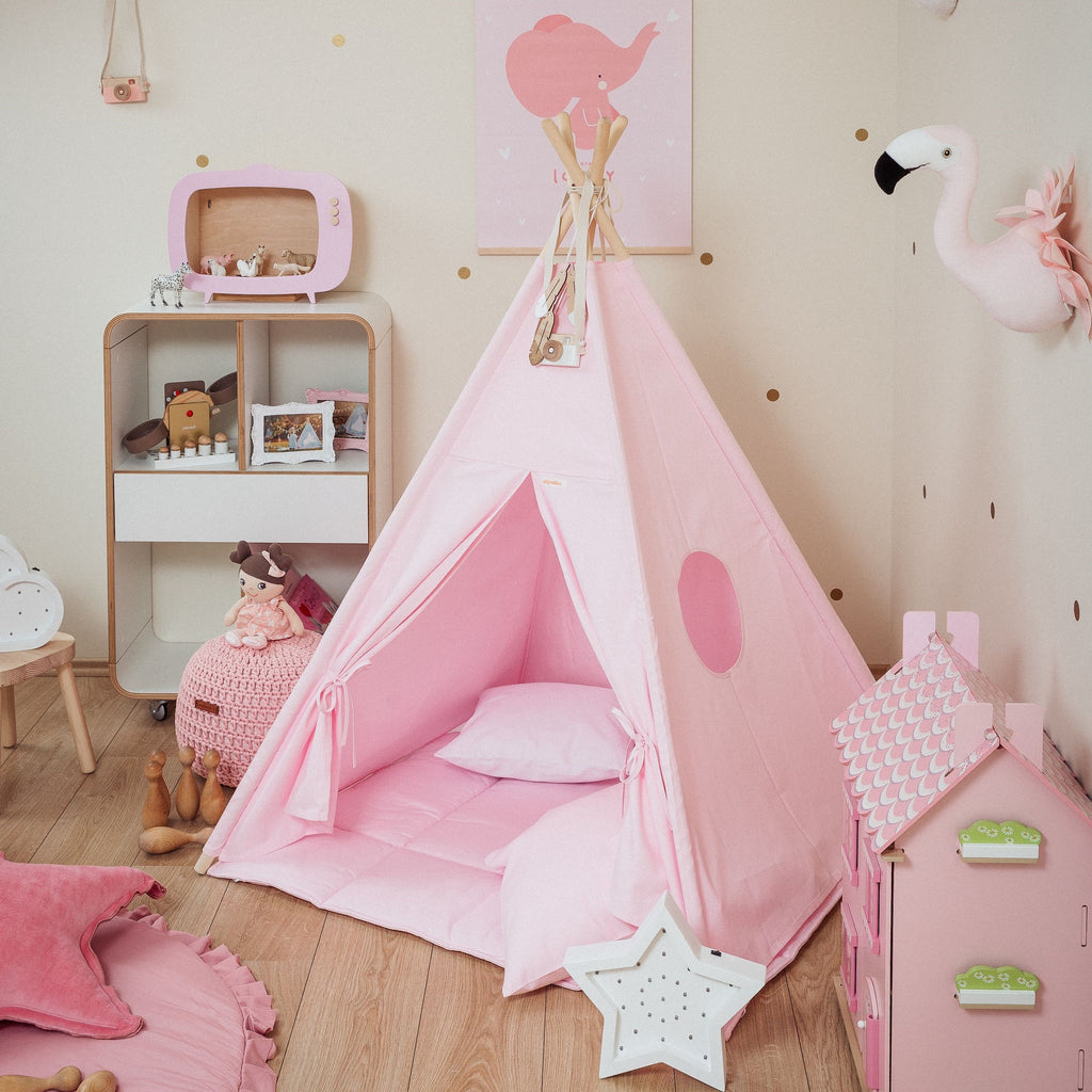 Teepee Tent - Pink