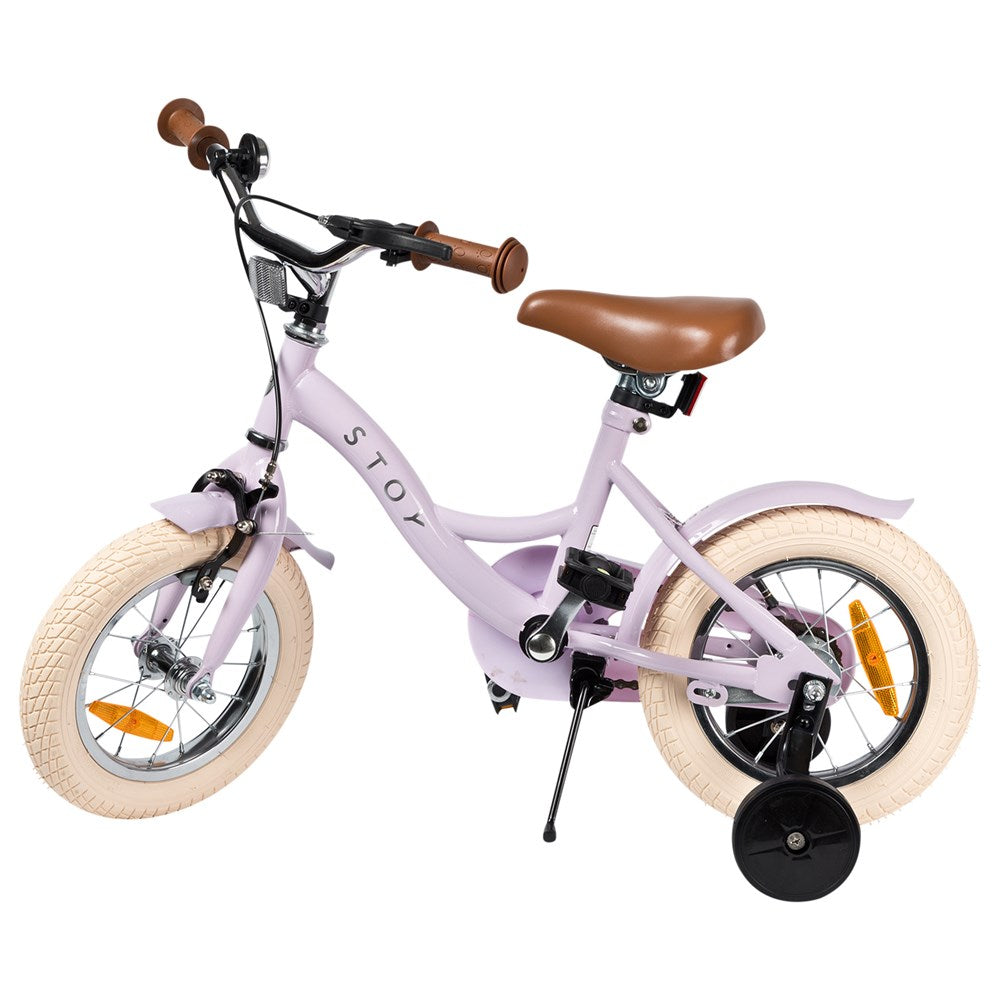 "Stoy Bicycle 12"" Vintage Light Pink (3+ years)"