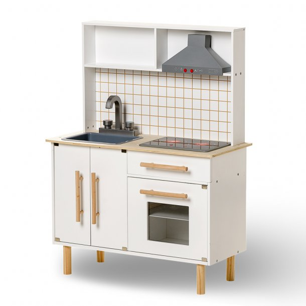 Deluxe Toy Kitchen with sound/ light - white