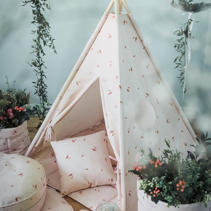 Teepee Tent - Misty Rose