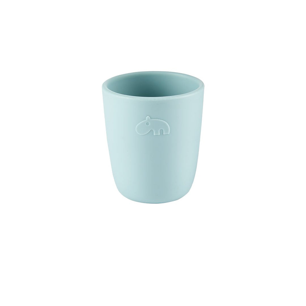 Hippo Easy-Grip Silicone Cup - Blue