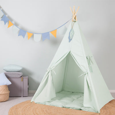 Little Dutch Teepee Tent - Mint