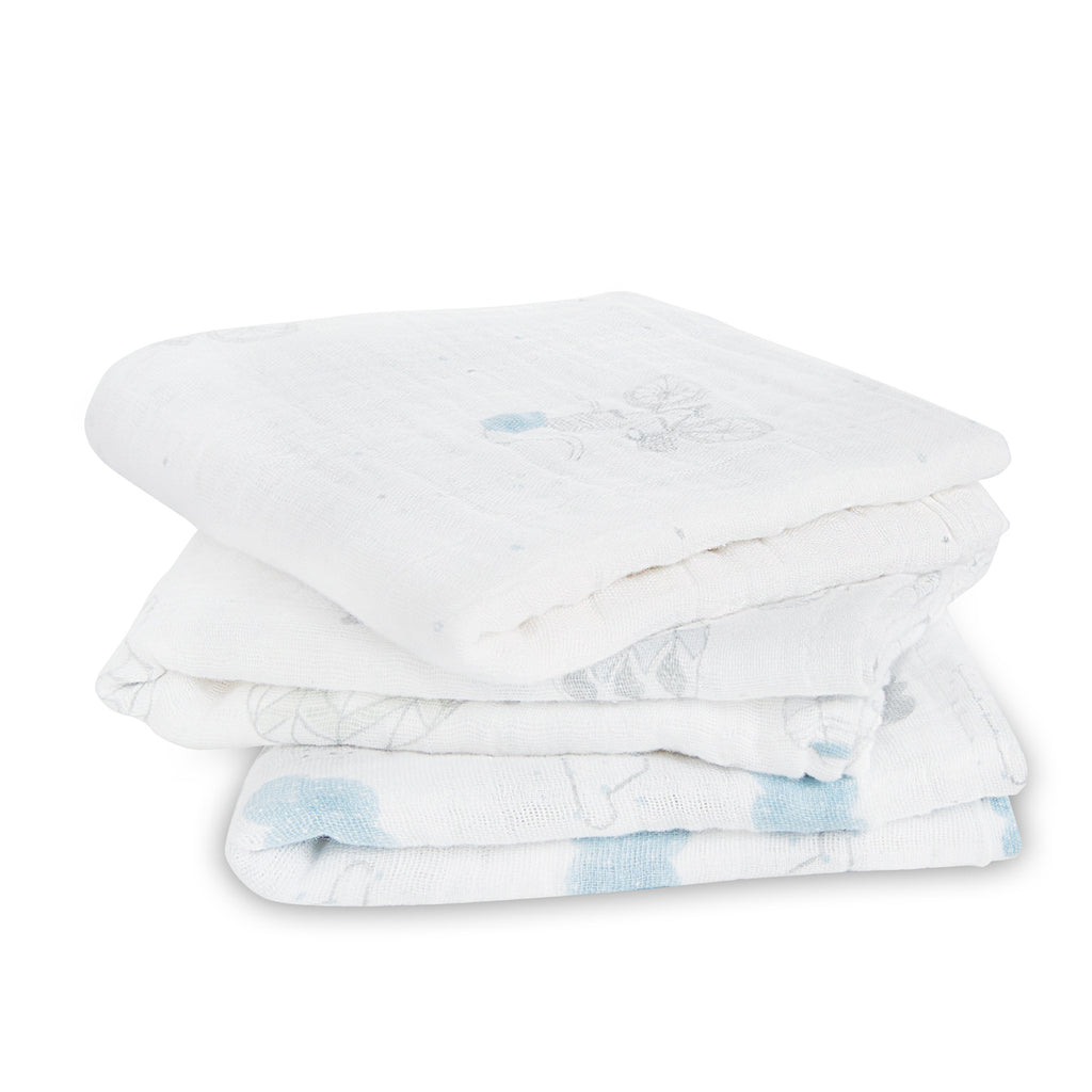 aden + anais muslin squares - night sky reverie 3-pack