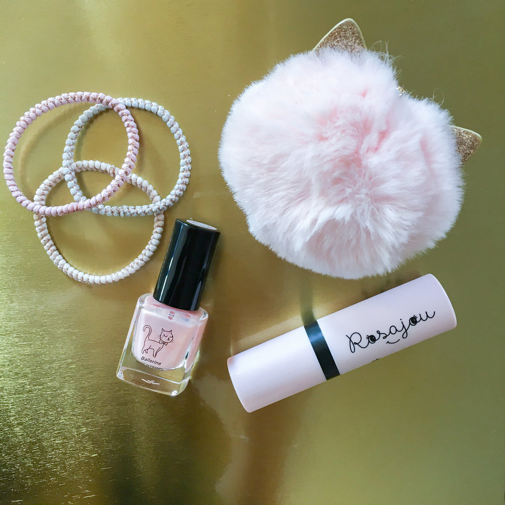 Rosajou DUO lipstick and nail polish - Ballerine