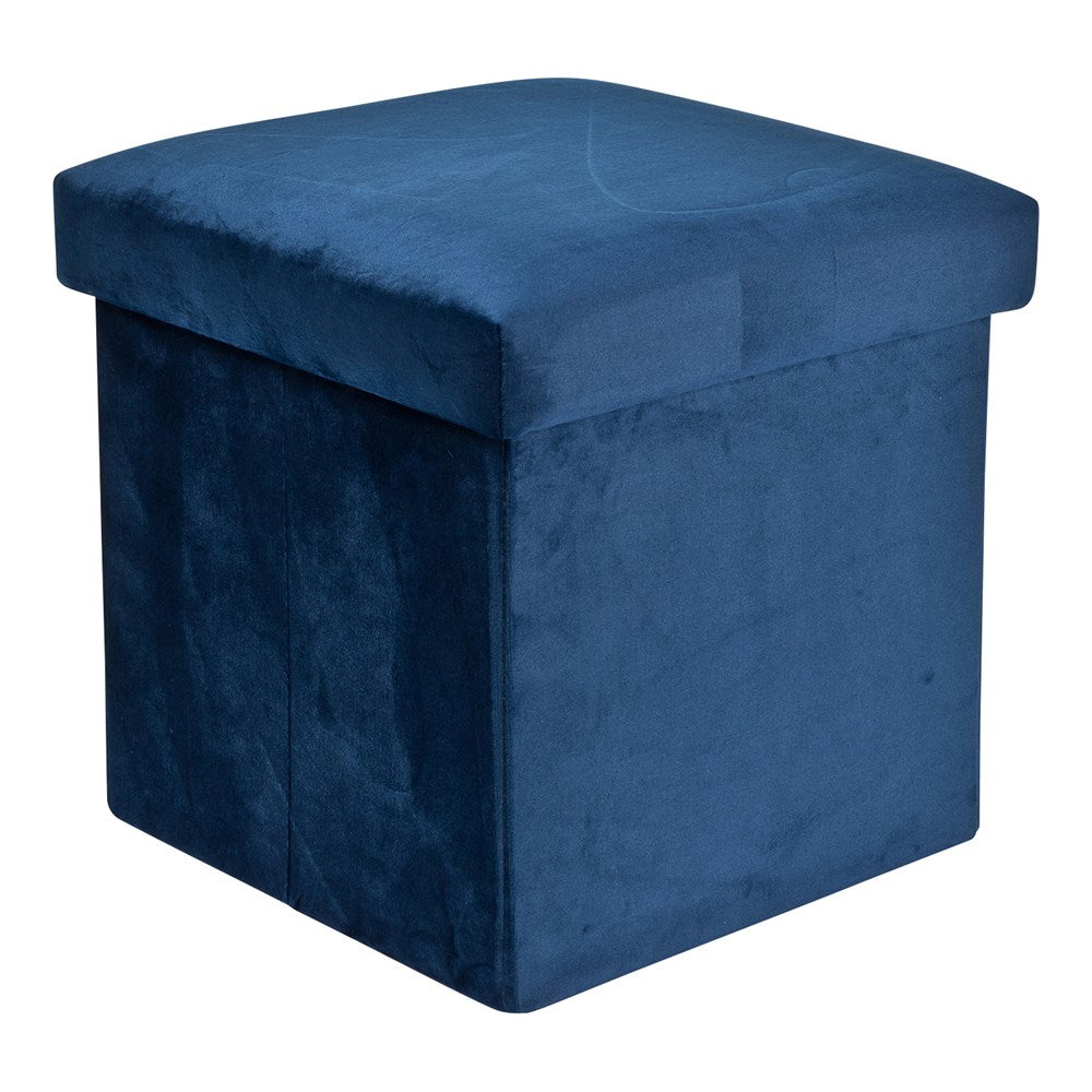 Foldable Storage Box - Velvet Blue