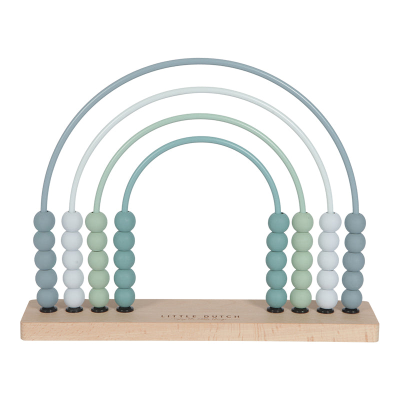 Little Dutch Abacus Rainbow - Blue