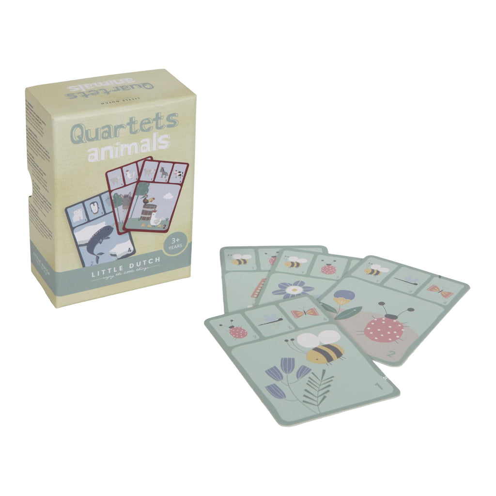 Little Dutch Quartets Card Game - Animals