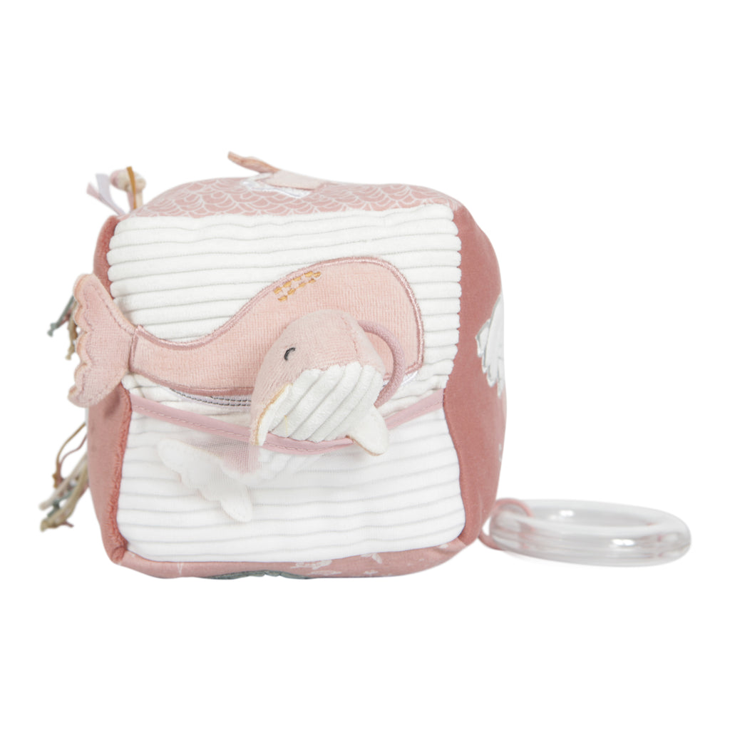Little Dutch Soft Activity Cube - Ocean Pink