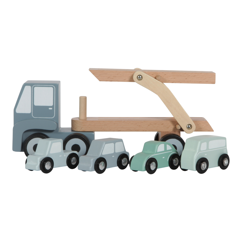 Little Dutch Wooden Transporter Truck