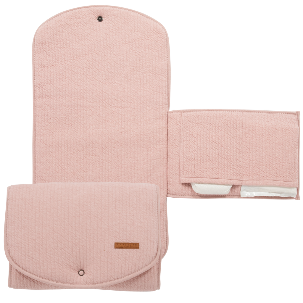 Little Dutch Organic Comfort Changing Pad - Pure Pink