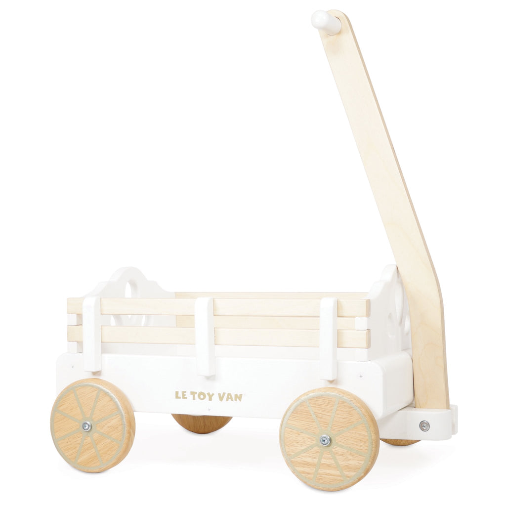 Le Toy Van Wooden Pull Along Wagon