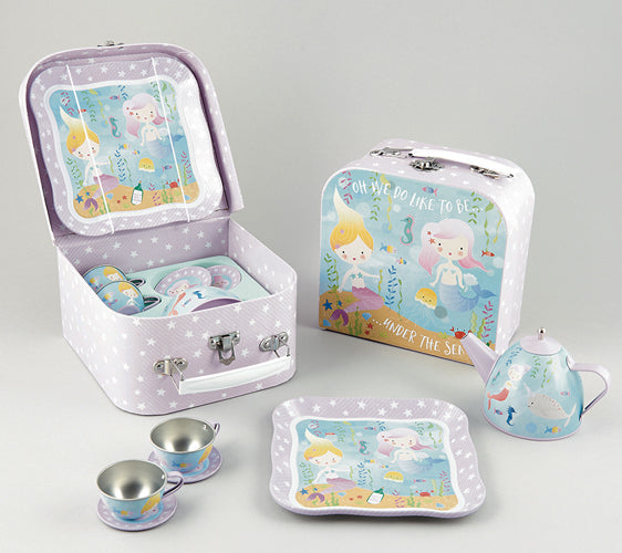 Floss and Rock Tea Set - Mermaid