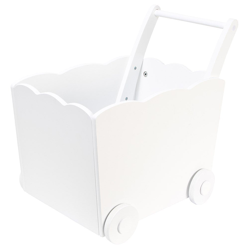 Toy Cart - white