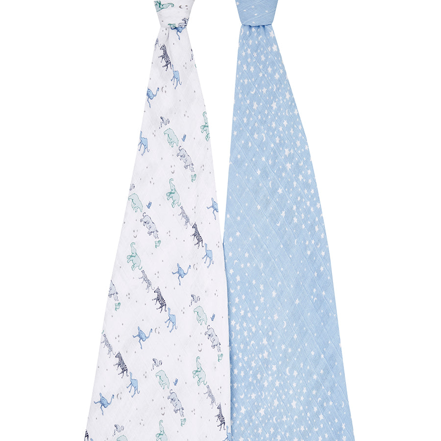 aden + anais rising star 2-pack classic swaddles