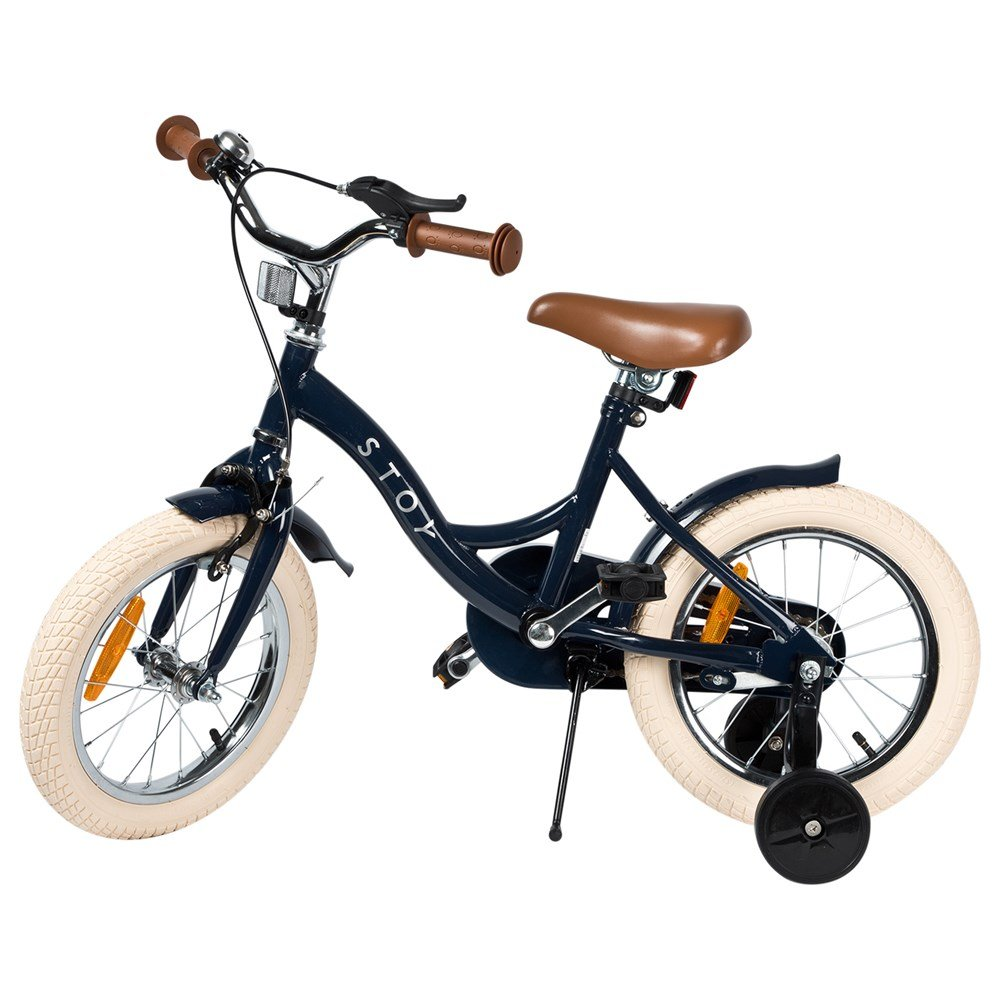 "Stoy Bicycle 12"" Vintage Navy Blue (3+ years)"