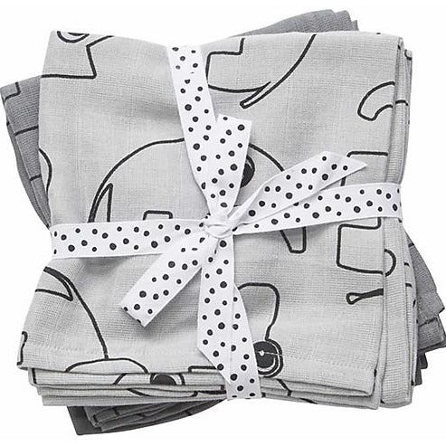 Done by Deer Swaddle, 2-pack - Grey