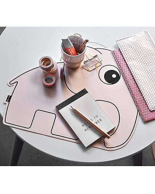 Done by Deer Elphee Placemat - Powder Pink
